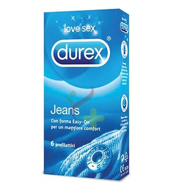 Durex Linea Classic Jeans Vestibilità Easy On Confezione con 12 Profilattici