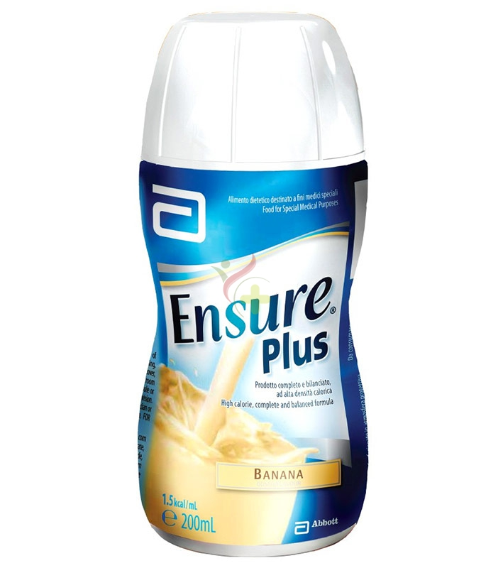 Abbott Linea Nutrizione Domiciliare Ensure Plus Integrazione 4x200 ml Banana